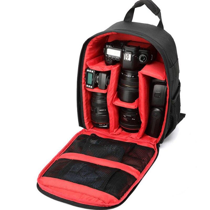 Al aire libre multi-funcional de cámara Mountaineer bolsa impermeable Mini compacto Digital DSLR cámara de fotografía vídeo mochila