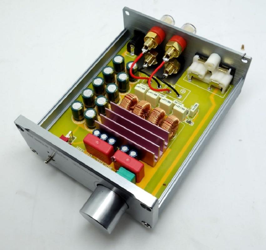 Carcasa de aluminio TPA3116 50WX2 HIFI 2,0 amplificador de potencia digital de salida estéreo