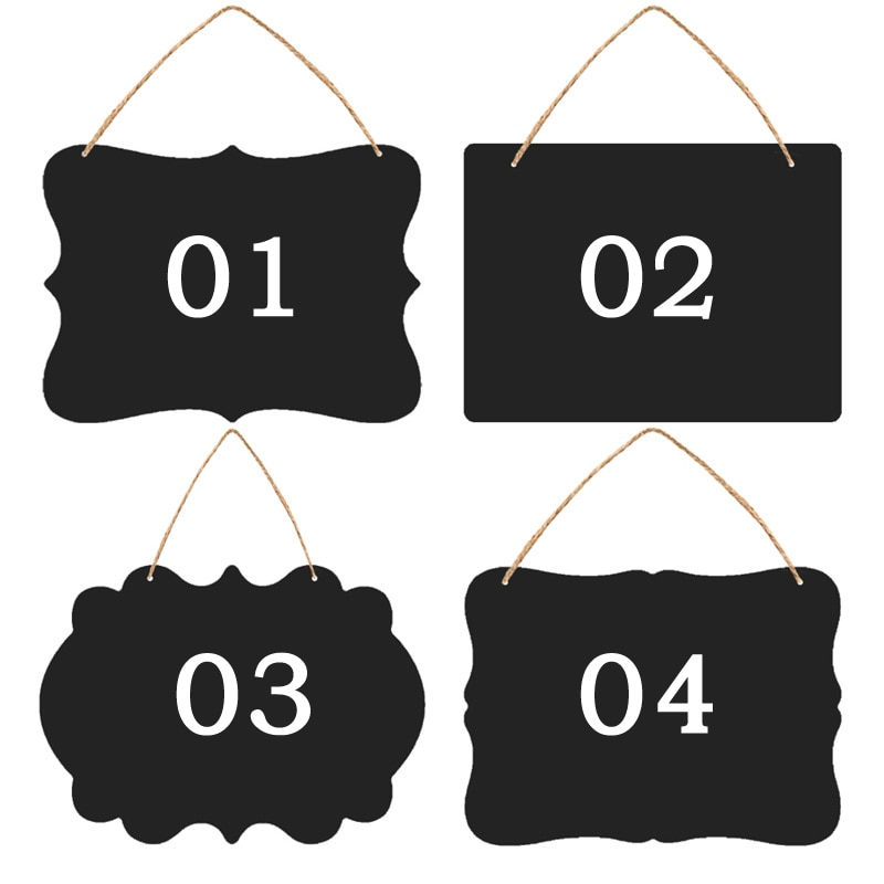 Creative Small Blackboard Mini Double-Sided Wooden Message Board Label Price Sign Chalkboards Children BlackBoard, 23X17CM wood figurines easel racks double sided magnetic small blackboard brackets baby painting board wooden drawing educational toys