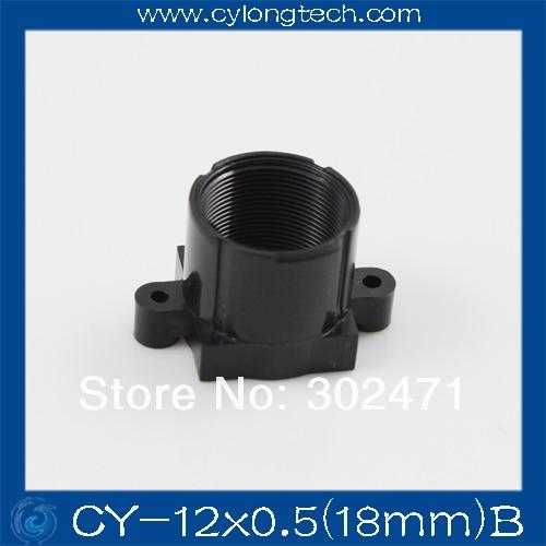 M12 de montaje de lentes ABS de montaje de lentes lente de la Cámara de montaje ABS soporte de la lente de paso fijo 18 MM CY-12x0.5 (18 mm) B