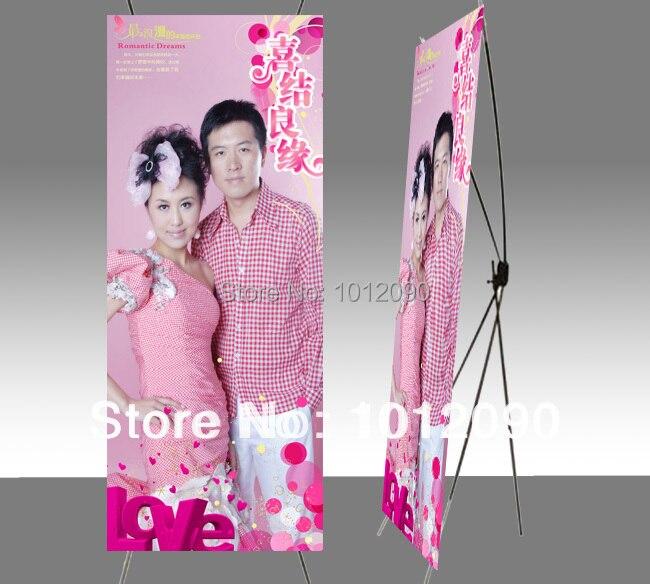 Exposição de alumínio x stands/x banner feiras/x display portátil/tamanho 160x60 cm
