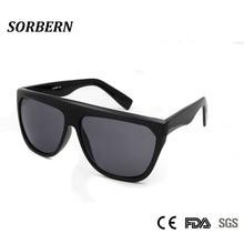 SORBERN Oversized Square Sunglasses Women 2018 Big Black Shades For Women Uv Protection Sun Glasses Female Punk Lunette Soleil