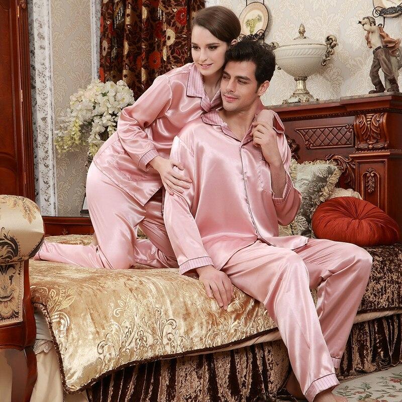 Модные пижамы для пар летние Пижамные штаны с коротким рукавом Розовая