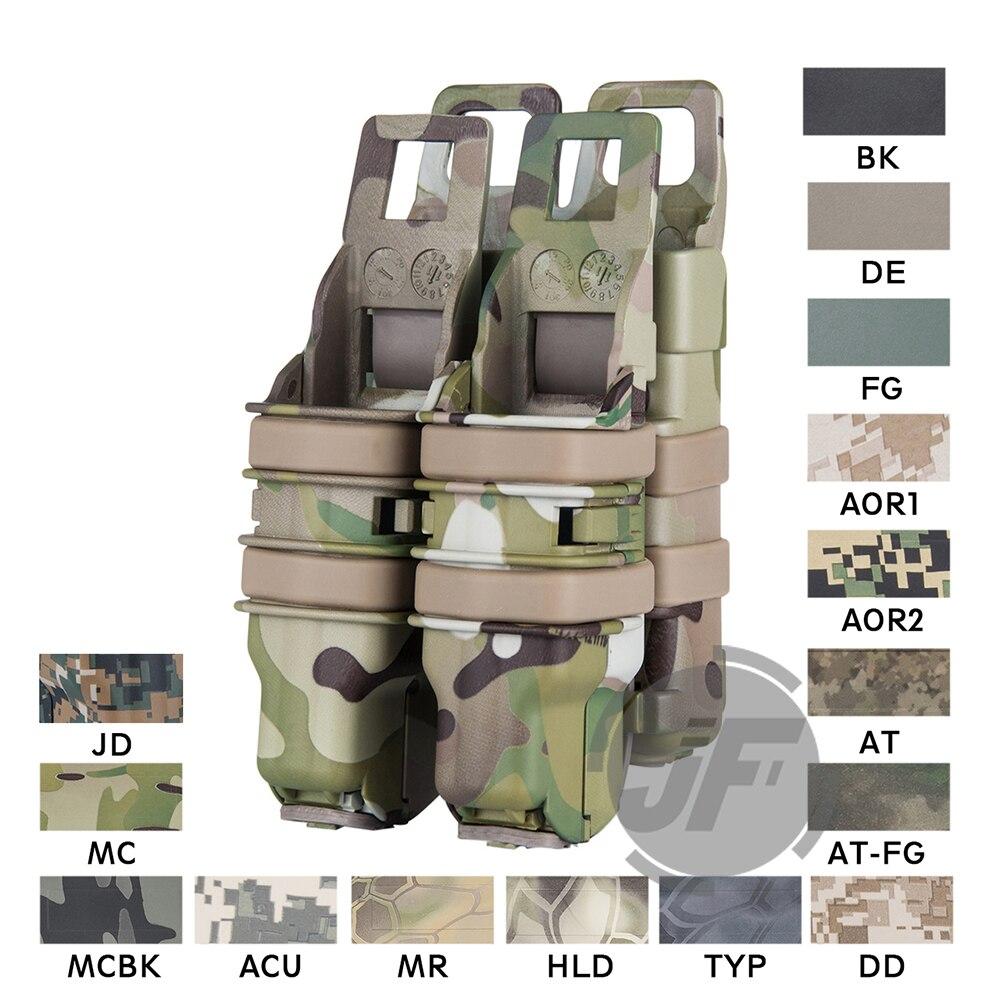 טקטי FastMag M4 5.56. 223 & אקדח מגזין פאוץ תחמושת Mag נרתיק מהיר רענן כבד מהיר Mag עבור MOLLE PALS מערכת
