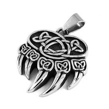 Celtic Knot Charms Claw Biker Pendant Stainless Steel Jewelry Punk Norse Viking Motor Biker Men Pendant Wholesale SWP0407