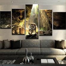 5 paneles de lienzo de la vida del mar SET de pintura de arte de la pared