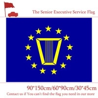 6090cm 90150cm the senior executive service flag american 3x5ft digital printing banner 3045cm car flag