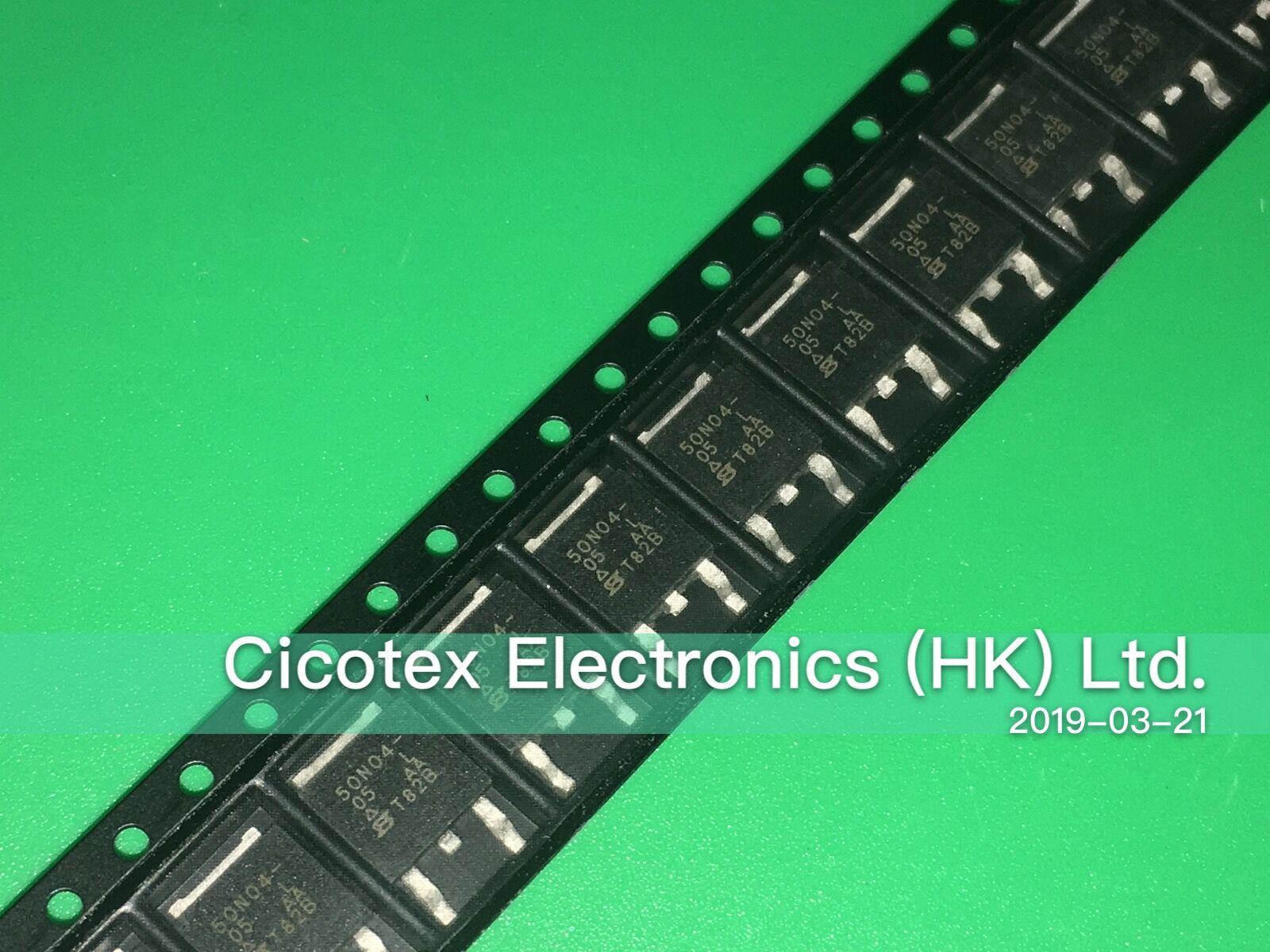 10 pçs/lote SUD50N04-05L-E3 PARA-252 50N04-05L 40 V 115A TO252 DPAK MOSFET N-CH SUD 50N04-05L 50N04 SUD50N04-05L