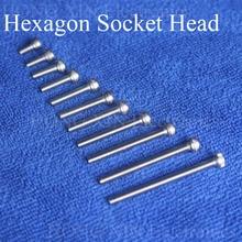 Vis à capuchon hexagonale M3 304 1 pièce   Vis à tête creuse hexagonale, meubles métrique boulon de vélo, tête de cylindre, vis intérieure hexagonale