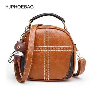HJPHOEBAG Handbags Women's Bag Shoulder Female Luxury Leather Messenger Bag Women's Crossbody Ladies Hand Bags for Women YC112