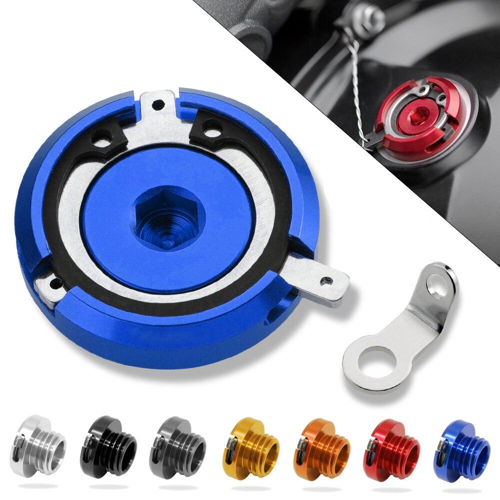 Tapa de filtro de aceite para motocicleta M20 * 2,5 para DUCATI HYPERMOTARD 821 SP 13-15 400 MONSTER ST4/S/ABS CB600F CBF1000 06-09
