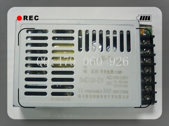 [JIYUAN] 20W JMD20-D1 5V2A 12V1A-fuente de alimentación conmutada dos aislados-5 unids/lote