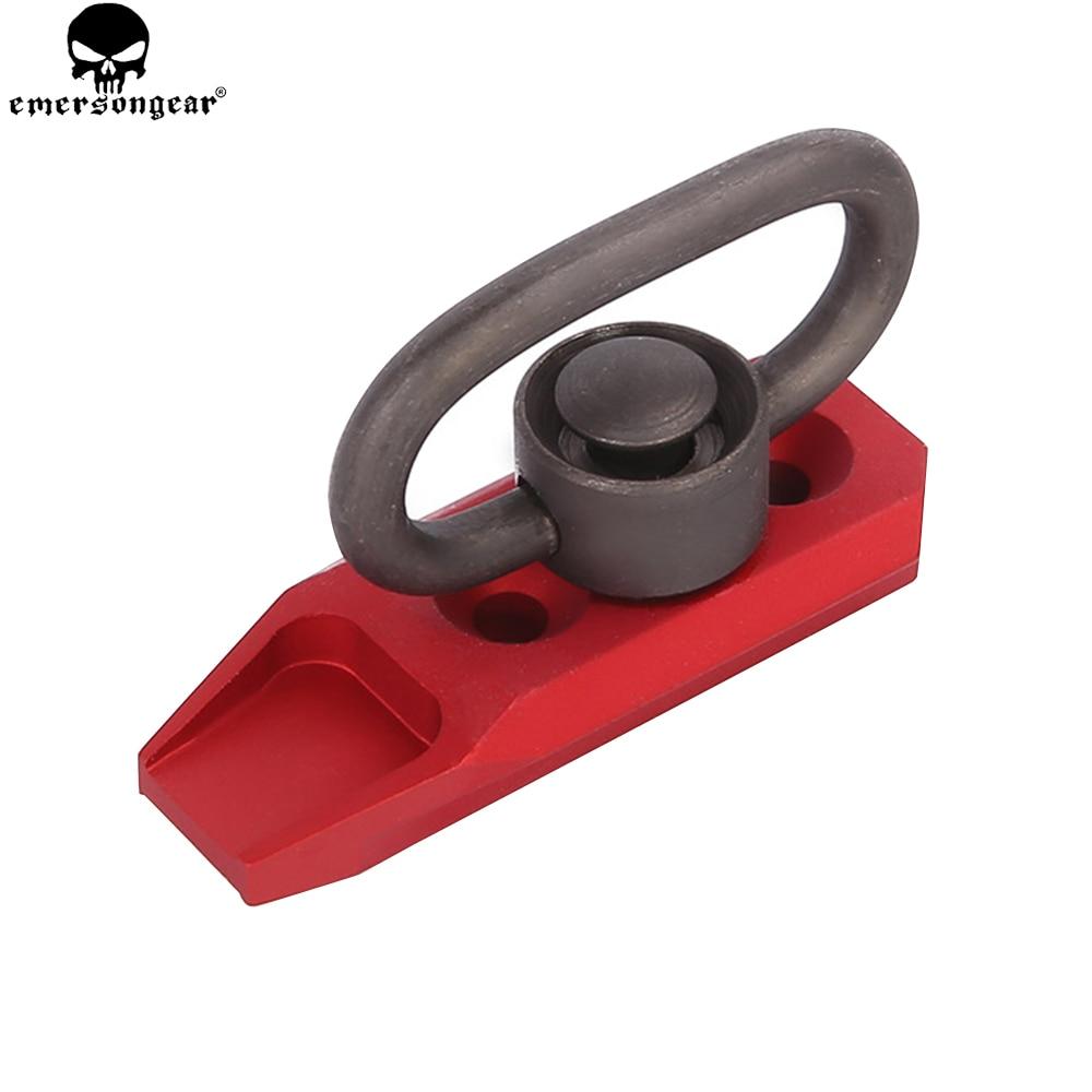 EMERSONGEAR KAC Style QD Sling Mount with QD Buckle for Keymod Hunting Accessories Quick Detach QD Sling Swivel Mount Kit BD9081