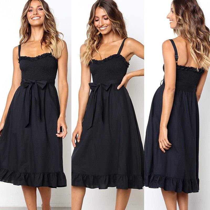 Sexy Strapless Backless Cotton Summer Dress Women Elegant 2019 Floral Print Wrap Midi Party Dresses Vestidos