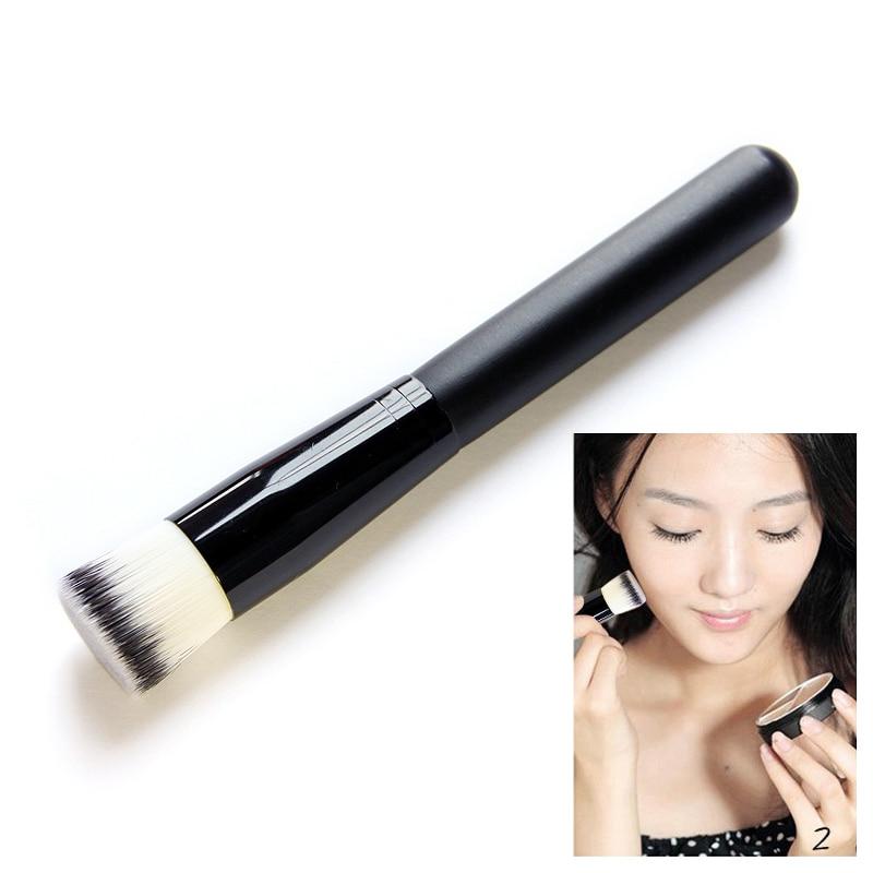 Profesional brocha para contorno plana Premium mezcla de rostros destacando maquillaje cepillo B2C tienda