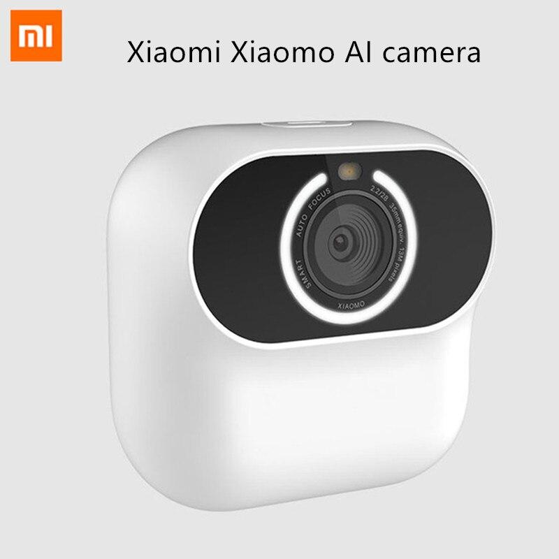 Xiaomi Xiaomo AI камера мини камера 13MP CG010 автопортреты Интеллектуальное распознавание жестов Бесплатная съемка угловая камера умное приложение