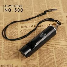 ACME500 course pigeon formation sifflet film bande son sifflet étanche longue distance résine noir sifflet