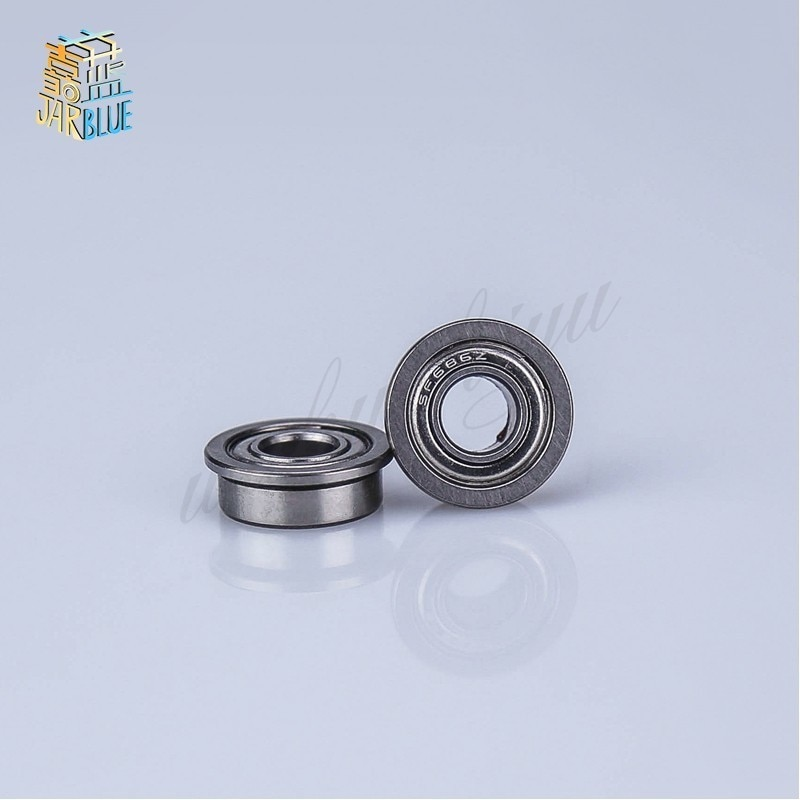 10pcs Flange Ball Bearings F604zz F623zz F624zz F625zz F684zz F688zz F606zz 3d Printers Parts Pulley Wheel Part Thrust Bearing