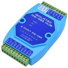 Hub 485 à 8 ports et 8 canaux   Séparateur rs485 à 485 ports, répéteur de qualité industrielle et cosmétique isolé