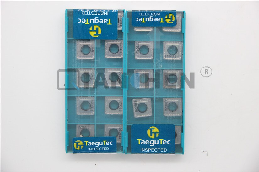 TaeguTec ، 10 قطعة/الوحدة ، مخرطة أداة ، SPMT120408-RBE TT8020 SPMT120408 RBE TT8020 كربيد إدراج ، الوجه مطحنة عدة المخرطة القاطع CNC أداة