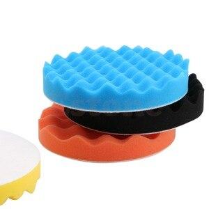 Image 4 - 4 шт., набор губки для полировки автомобиля, 6 дюймов (150 мм)