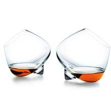 Copa de whisky giratoria, copa de copa para el vientre, cigarro, cóctel, beber vino, Copa inferior, Copas de Bar, Gafas, Caneca Brandy