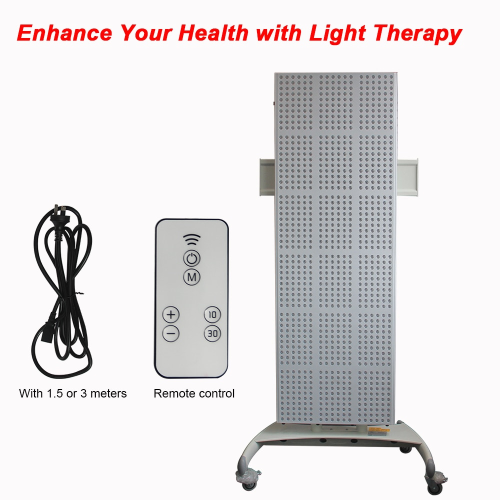 2019 full body high frequency facial red infra red machine TL2000 660nm 850nm red light therapy for antiageing