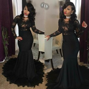 Prom Evening Celebrity Dresses 2021 Woman's Party Night Cocktail Long Mermaid Dresses Plus Size Dubai Arabic Formal Dress
