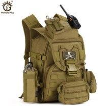 40L sac à dos tactique sac à dos militaire 900D Nylon imperméable à leau armée sac à dos Sports de plein air Camping randonnée pêche sac de chasse