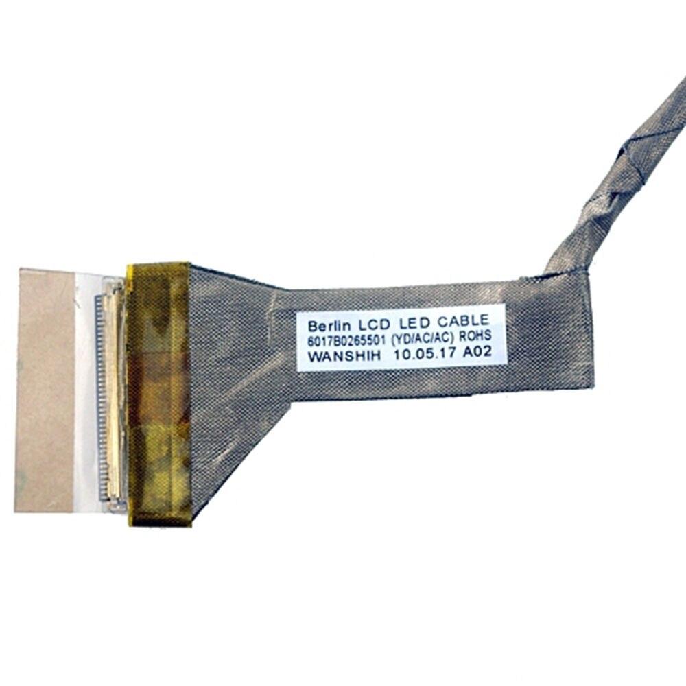 "P/N 6017B0265501 Video Flex pantalla LVDS LED LCD Cable para TOSHIBA Satellite C650 C650D C655 C655D 15,6"""