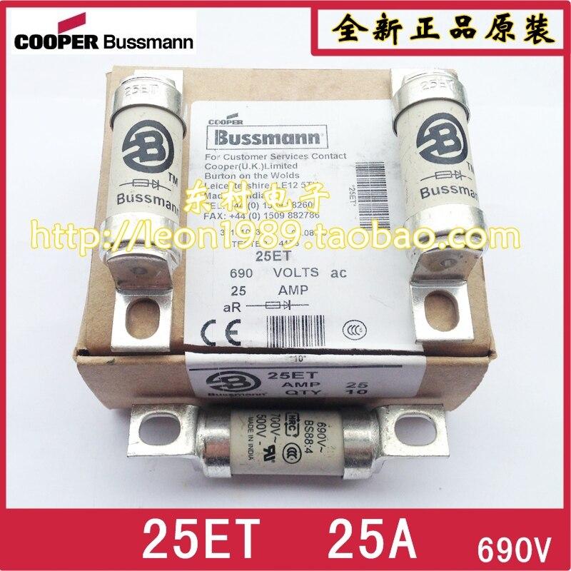 Eua BUSSMANN fusível BS88  4 fusível 25ET 25A 32ET 35ET 35A 690 V