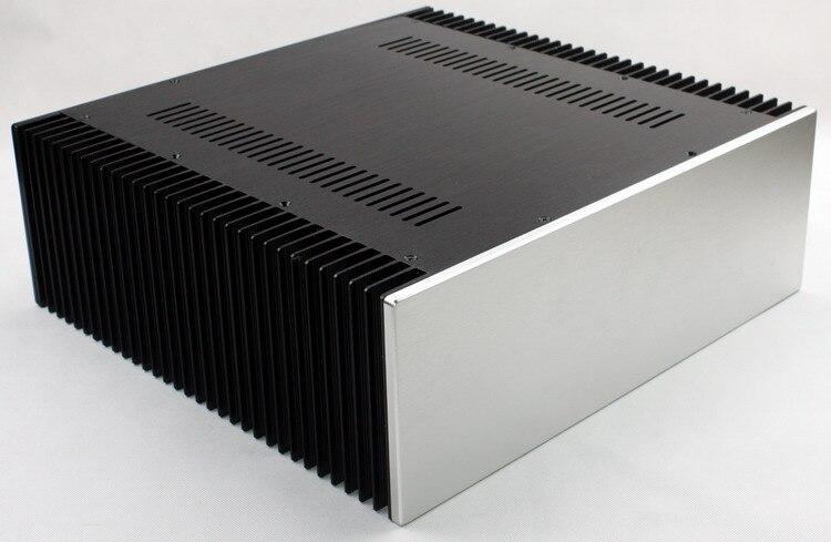 WA68 tout aluminium/banc pur/châssis damplificateur classe A/coque dampli/boîtier/boîte de bricolage (430*150*412mm)
