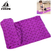 FDBRO Yoga couverture Fitness tapis Yoga tapis serviette antidérapant Yoga tapis couverture serviette Sport Fitness exercice Pilates entraînement chaud