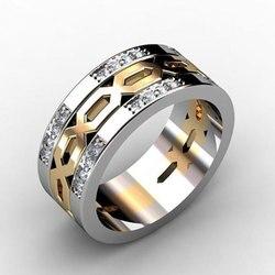 Modestilo 2019 joias de zircão, modernas, casamento, noivado, anéis, vintage, punk, prata esterlina 925