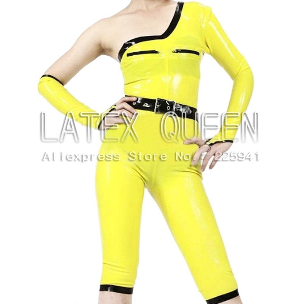Women's Rubber catsuit zentai