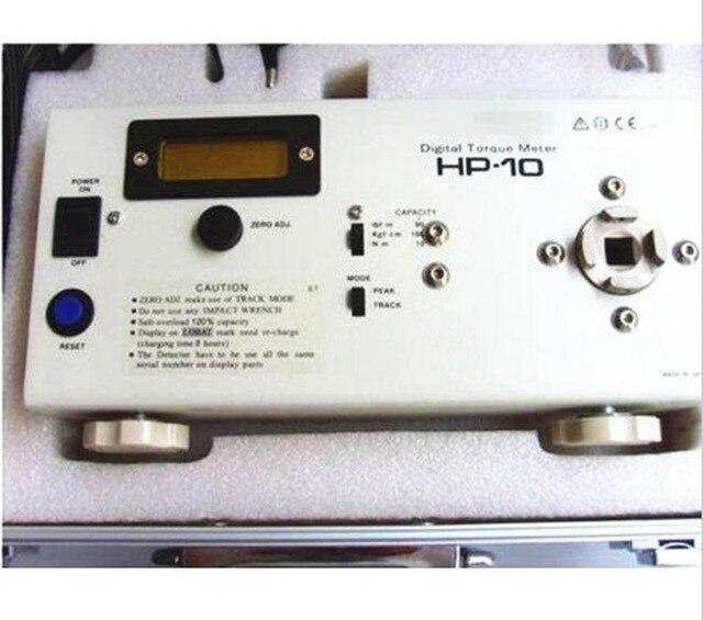 HP-10 الرقمية عزم الدوران متر مفك مسامير/وجع قياس/اختبار أداة أجزاء