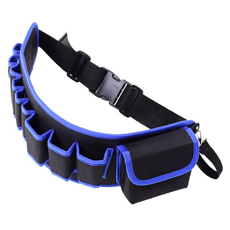¡2020% Original! manitas de herramientas de cinturones, bolsas de cintura multibolsillos, delantal de trabajo de construcción, práctico bolso multifuncional de kit de herramientas