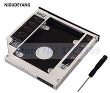NIGUDEYANG SATA 2nd 하드 드라이브 SSD 캐디 어댑터 HP Pavilion G6 G7 시리즈 G7-1310us g6-1001er G6-1203ss DS-8A5LH DVD ODD