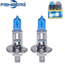 12v H1 100W bombilla halógena de coche 6000k Super xenón blanco antiniebla luces de alta potencia faro de coche Luz de coche fuente de luz de aparcamiento