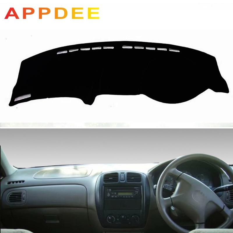 APPDEE  Covers Dashmat Dash Mat Sun Shade Dashboard Cover Capter Custom For Mazda Familia 323 1998 1999 2000 2001-2003