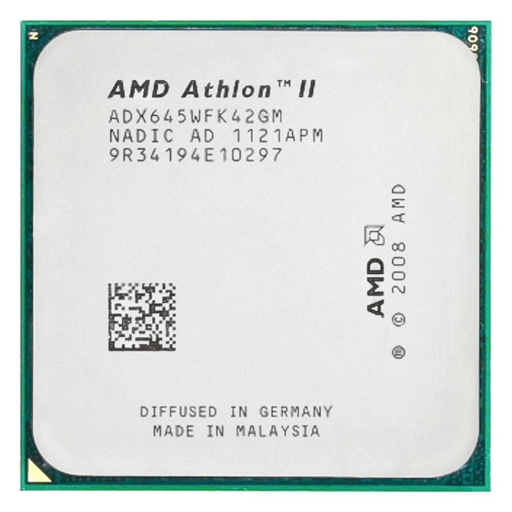 AMD Athlon II X4 645 CPU procesador Quad-CORE (3,1 Ghz/ L2 2M...