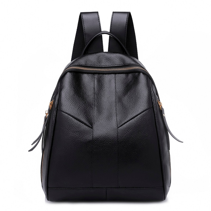 New Arrival Fashion Women Leather Backpack Female Casual Preppy Style Schoolbag Ladies Backpacks Shoulder Bag Mochila Feminina