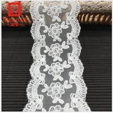 Accessoires de vêtement à faire soi-même, filet de broderie, dentelle, tissu décoratif fait main, literie, vêtement féminin, robe de mariée, 1yard