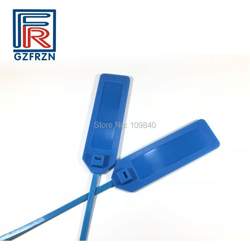 RFID Zip Tie Waterproof Cable Tracking  Logistics Electronic Plastic Packaging Sisposable NFC Seal Self-locking Tag 100pcs/Lot