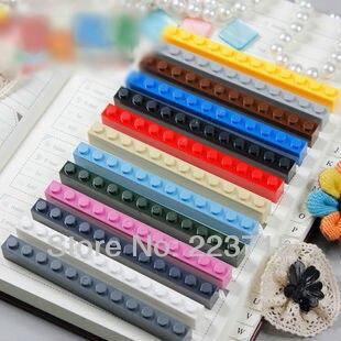 ¡Envío Gratis! 6112 20 piezas * ladrillo 1x12 * DIY iluminar bloque de ladrillos, Compatible con las partículas de ensamblaje