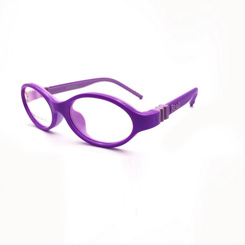 Ancho-125 gafas para niños TR90 de alta calidad de silicona suave desmontable hipermetropía opítica ambliopía gafas para miopía con montura para niños