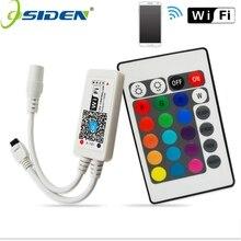 Contrôleur à distance Wifi LED de rvb/RGBW DC12V MIni Wifi + IR 24 pour la bande de LED de rvb/RGBW