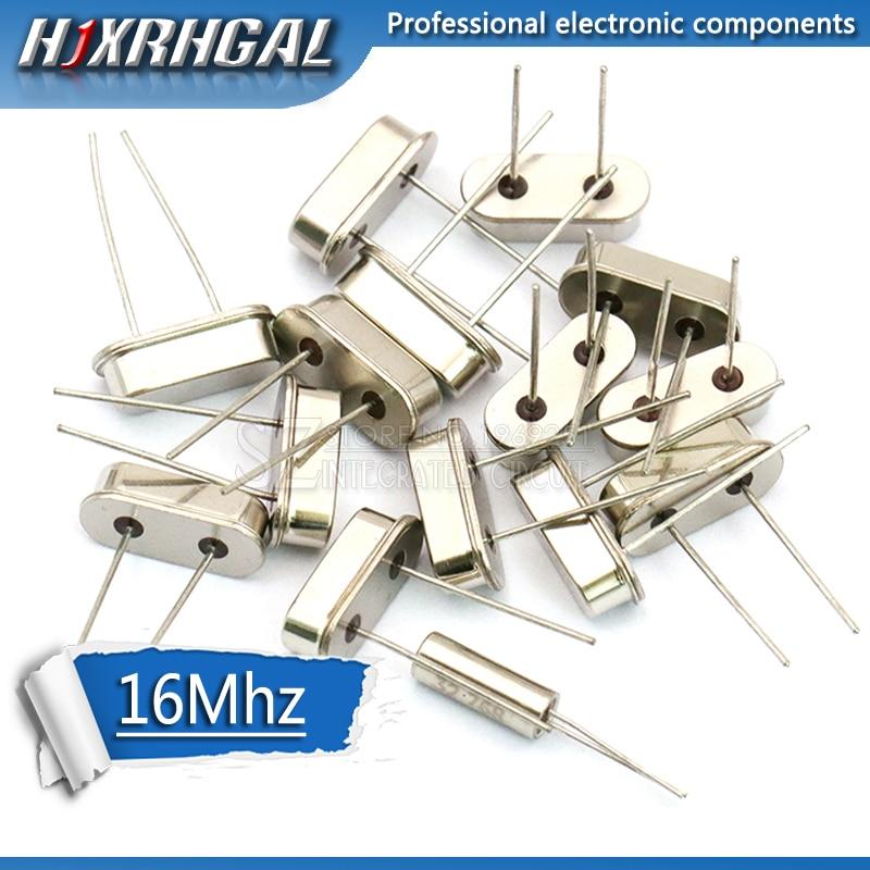 10 шт. HC-49S 16 МГц Кварцевый резонатор HC49S 49S 16 м 16,000 МГц кристалл hjxrhgal