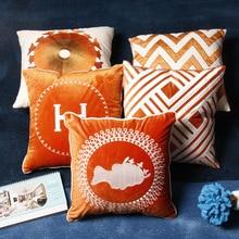 Home Decorative  Model room living room sofa cushion cover villa bedroom bed cushion cushion sofa hug pillowcase