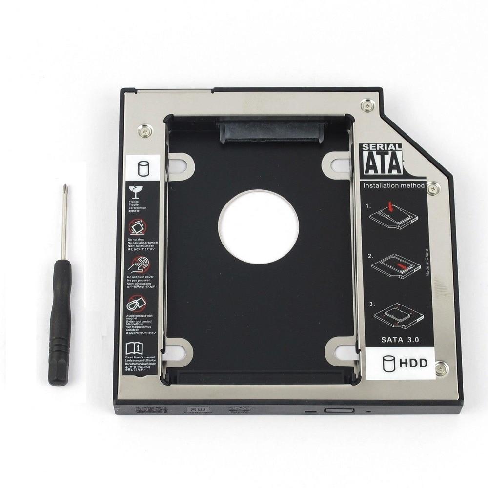 WZSM nuevo 2nd SATA HDD Disco Duro Caddy 12,7mm para Acer Aspire...